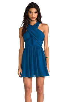 keepsake Heartlines Dress in Turquoise from REVOLVEclothing