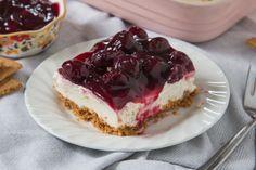 Easy Cherry Delight Dessert (No-Bake)