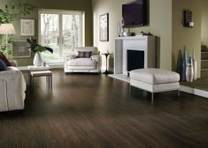 hardwood may be 'better' but this is beautiful, I like almost everything about this room, especially the floor!
