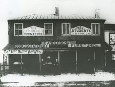 Anderson and Brothers Bookstore, Charlottesville , Virginia from University of Virginia Visual History Collection ·  ·  · Albert and Shirley Small Special Collections Library, University of Virginia.