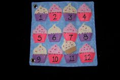 Cupcakes (for the oven page) plus counting page