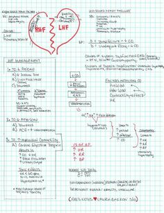 Fluid & Electrolyte Notes on HeartFailure