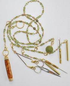 Beaded Sewing Chatelaine