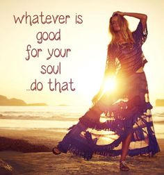 What ever is good for your #soul do that! #emmamildon