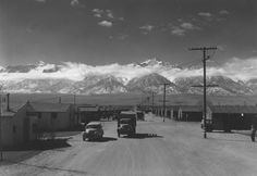 See how photographer Ansel Adams captured life inside a Japanese internment camp. Ansel Adams Photos, Essay Contests, Japanese American, Spring Art, Great Photographers, Photo Essay, Madame, Historical Sites, National Parks
