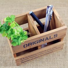 zakka groceries do the old antique wood wooden lattice wooden pen two vintage wooden storage box wholesale-in Storage Baskets from Home & Garden on Aliexpress.com | Alibaba Group