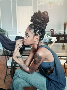 The new cool   Old is New   Box Braids Hairdo