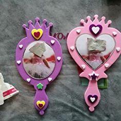 Lot de 4 Kits Miroir de Princesse à assembler - Idéal pour les costumes de Princesse: Amazon.fr: Jeux et Jouets