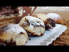 Questi panini che racchiusi da un generoso cucchiaino di nutella, sono ideali per la colazione o la merenda dei nostri piccini! Nutella, I Companion, Bocconcini, Panini, Croissant, Pastries, Breads, Muffin, Breakfast