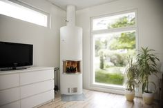 Finoven Wilma via Kachelbouwer. Interior Inspiration, New Homes, Living Room, House, Home Decor, Fire Places, Decoration Home, Home, Room Decor