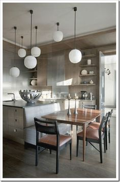 The lights are fabulous, the cabinets are great as well. ......Jean Louis-Deniot