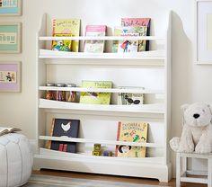 "Madison 3-Shelf Bookrack | Pottery Barn Kids 38.5"" wide x 5.5"" deep x 44.5"" high"