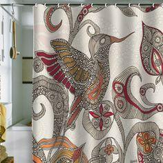 Valentina Ramos Flying Shower Curtain