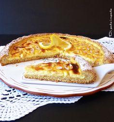Di pasta impasta: Crostata al limone e ricotta semintegrale... Buona Pasqua