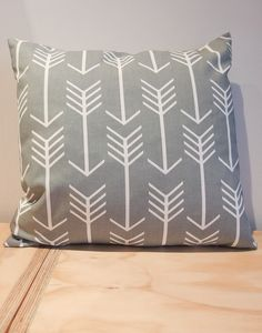 Arrows Cushion - Grey - Good Regards - Unique Homewares & Gifts