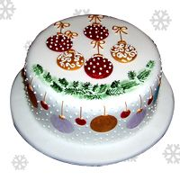 Gifts a cake on new-year with http://www.kolkataflowermall.com/