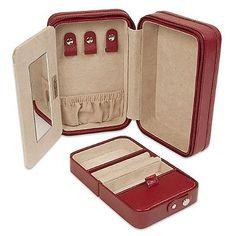 Zip Jewelry Case