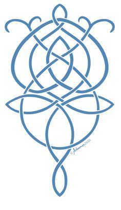 Evenstar Knot by adoomer.deviantart.com on @deviantART