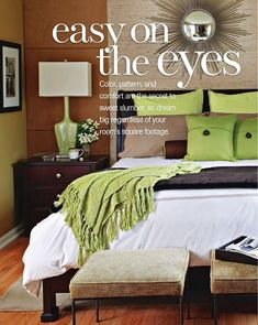 "Colors (from ""100 Decorating Ideas Big Style for Small Rooms – 2011\"") 