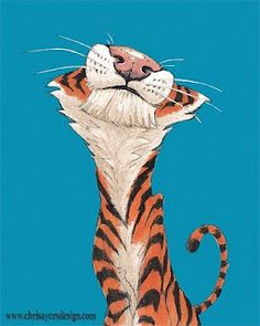 """the Amazing """"Daily Zoo"""" by Chris Ayers (who should be an honorary Let's Draw Endangered Species artist)"""