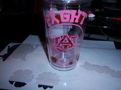fight like a girl glass
