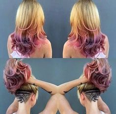 Stylish hair tattoos for girls! - The HairCut Web Undercut Long Hair, Undercut Women, Undercut Hairstyles, Grown Out Undercut, My Hairstyle, Pretty Hairstyles, Wedding Hairstyles, Shaved Hair Designs, Hair Tattoos