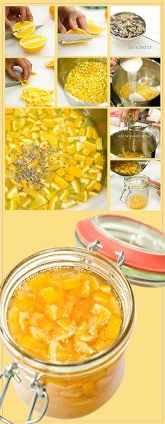 easy meyer lemon-lavender marmalade