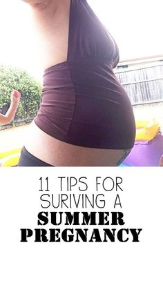 Pregnant and summer