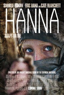 Saoirse Ronan is electrifying as the protagonist in the thriller Hanna! Also stars Eric Bana and Cate Blanchett. Eric Bana, Film D'action, Bon Film, Film Serie, Hanna Movie, Love Movie, Movie Tv, Crazy Movie, Badass Movie