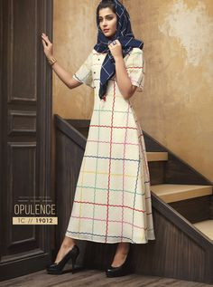 Order this dilettante multi colour party wear kurti for festival and party. Fancy Party, Party Wear, Designer Kurtis Online, Kurti Collection, One Piece Outfit, White Casual, Festival Party, Casual Wear, Nice Dresses