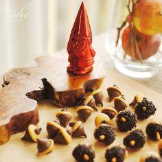 Cute edible acorns! Woodland party via Kara's Party Ideas KarasPartyIdeas.com