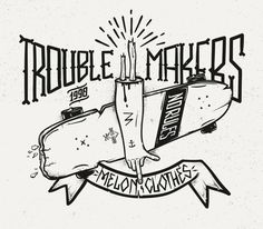 SerialThriller™ — betype: Trouble Makers by Piotr Jakuboski