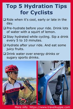 Check out these 5 hydration tips for anyone who exercises outdoors during the summer (or, for that matter, during any season). Drink water! #cycling #exercise #hydration #water Juicy Fruit, Great Gifts For Men, Outdoor Workouts, Drinking Water, How To Stay Healthy, Exercises, Cycling, Best Gifts, Outdoors