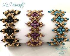 Beading Pattern: La Diamanta Bracelet in English by EnvyBeadwork