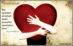I love myself | Always ladies