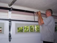 how to install a single torsion spring assembly diy pinterest torsion spring garage doors and doors
