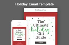 Holiday Email Template @creativework247