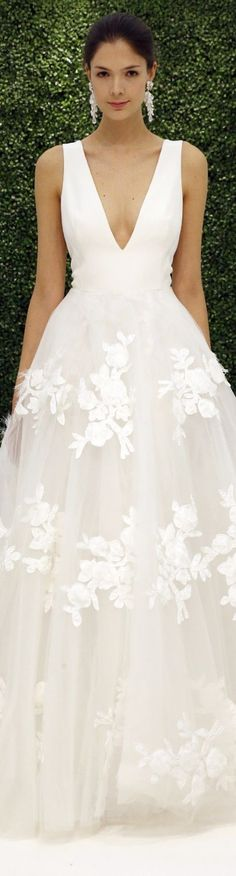 Sachin & Babi Bridal Spring 2017 Wedding Dresses - Deer Pearl Flowers / http://www.deerpearlflowers.com/wedding-dress-inspiration/sachin-babi-bridal-spring-2017-wedding-dresses/