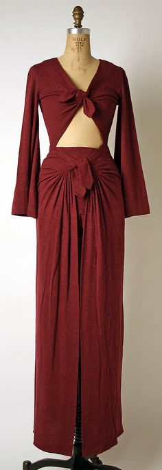Dress, Evening - Madame Gres 1969