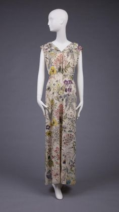 Dress by Elsa Schiaparelli, 1933 from the Goldstein Museum of Design