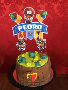 Torta Clash Royale, Birthday Candles, Birthday Cake, Ideas Para Organizar, Desserts, Lucas 11, Food, Cakes, Erika