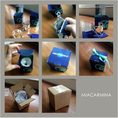 How to package a piece of jewelry for shipping. MiaCarmina 2015.