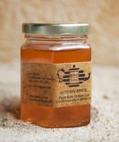 Autumn Spice Honey found @honeyteathyme on Etsy.