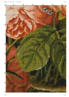 View album on Yandex. Cross Stitch Rose, Cross Stitch Flowers, Counted Cross Stitch Patterns, Cross Stitch Designs, Embroidery Patterns, Hand Embroidery, Flowers For You, Cutwork, Cross Stitching