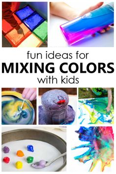 Fun Ideas for Mixing Colors