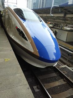 the nose of E7/W7 at Tokyo sta.