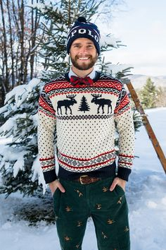 Mens Fashion 30 Years Old Preppy Mode, Preppy Style, Party Dress For Man, Party Wear, Mode Bcbg, Funny Christmas Sweaters, Classy Girl, Classy Style, Gents Fashion