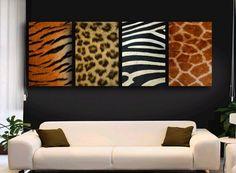 African Animal Print Wall Hangings