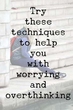 These techniques can help manage anxiety, worrying, overthinking, ruminating and unhelpful thoughts. It's so easy to get stuck in a cycle. Click the link to learn techniques to help you break it. Tags.. #mentalhealth #wellbeing #anxiety #depression #mindfulness #grounding #mindset #thoughts #quotes