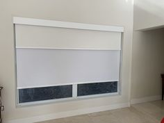 one piece Flat Dual Shade Facia with White Blackout & Screen Roller by Elite Decor Miami Privacy Shades, Roller Shades, Miami, Flat, Decor, Bass, Decoration, Roller Blinds, Decorating